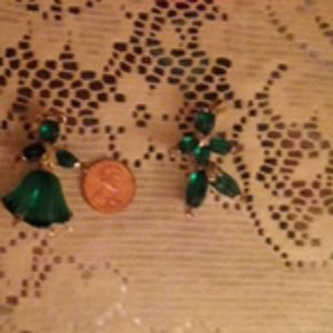 Antique Lovers dance brooches